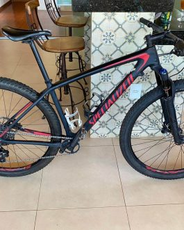 Specialized Epic Hardtail Comp Carbon 2018 Tamanho M (17), Peso 10,5 Kg.