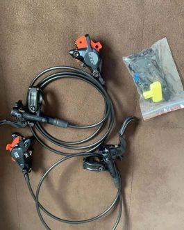 Freios Shimano SLX BL-M7100, Novo, Peso 425 g.