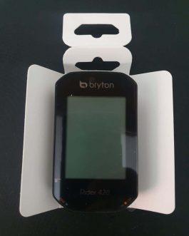 Ciclocomputador e GPS Bryton Rider 420, Novo.