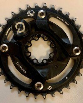 Medidor de Potência Sram Quarq Dzero XX1 Eagle Spider, Peso 110g, Usado.
