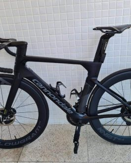 Cannondale SystemSix Hi-Mod Dura-Ace DI2 Carbon 2019 Tamanho 54, Nota Fiscal, Peso Aprox. 7,6 Kg.
