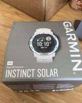 Relógio Garmin Instinct Solar Cloudbreak Surf, Open Box (Usado 2 a 3 vezes) + 3 meses de garantia