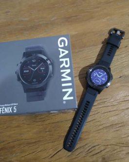 Relógio GPS Garmin Fenix 5, Nota fiscal, Usado.