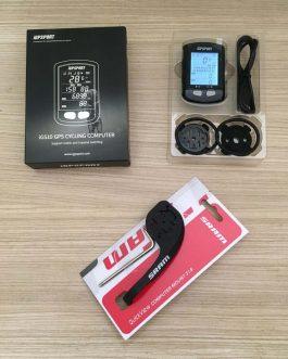 Ciclocomputador e GPS IGPSport IGS10 + Cinta Cardiaca Magene H64 + Sensor de Cadência, Novo.
