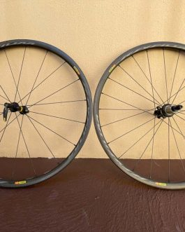 Rodas Mavic Ksyrium Pro Carbon SL, Peso Aprox 1,56 Kg, Usadas. (SPEED)