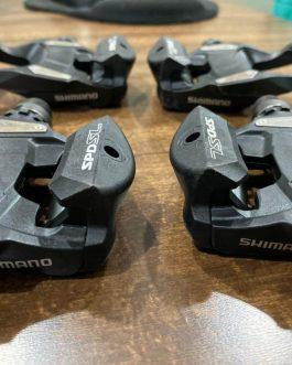 Pedais Shimano PD-RS500 para Speed, Usado 2 meses, Peso aprox 320 g o par.