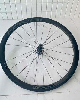 Rodas Roval rapid clx 40 usadas, peso 1.405 gramas.