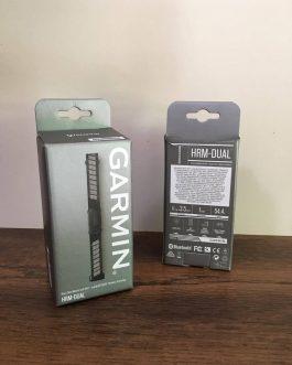 Cinta Cardíaca Garmin HRM Dual, Peso Aprox 54,4 g, Nova.