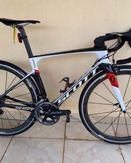 Scott Foil 10 Carbon 2018 Tamanho 52, Peso Aprox. 7,5 kg, Usada.
