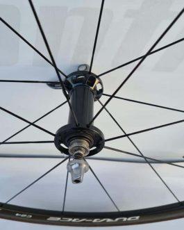 Rodas Shimano Dura Ace WH-9000 C24 Carbon Tubular, pra Speed, Peso Aprox. 1,100 kg sem pneus, Usadas.