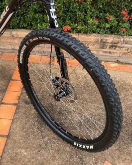 Cannondale F-Si Black Inc Carbon 2018 Tamanho L (19), Peso 10,5 kg, Usada.
