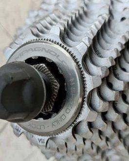 Rodas Campagnolo Scirocco G3 Alumínio, para Speed, Peso Aprox. 2,233 kg com cassete e blocagens, Usadas.