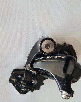 Câmbio Shimano 105 RD-5800-SS 11 velocidades, Peso Aprox. 229 g, Usado.