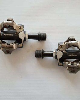 Pedais Shimano Deore XT M8000, Peso do par 346 g, Usados.