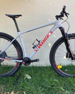 Specialized Epic Hardtail AXS S-Works 2020 Tamanho L, Nota Fiscal no nome do comprador, Peso Aprox 8,58 kg, Nova.
