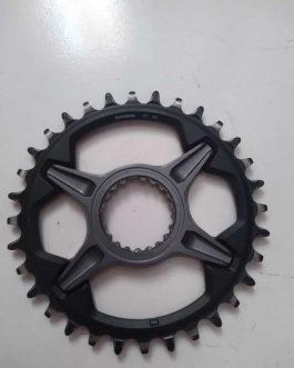 Coroa SHIMANO SLX M7100 12v 32 T, Peso Aprox. 150 gramas, Usada.