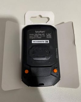 Ciclocomputador e GPS Bryton Rider 420, Peso 70 gramas, Novo.