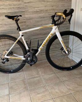 Specialized S-Works Roubaix Boonen Carbon 2017 Tamanho 54, Nota Fiscal, Peso Aprox. sem pedais 8,5 kg, Usada.