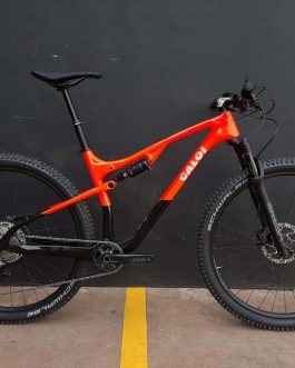 Caloi Elite Carbon FS 900 2021 Tamanho L (19), Nota Fiscal no nome do comprador, Peso Aprox. 12,9 kg, Nova.