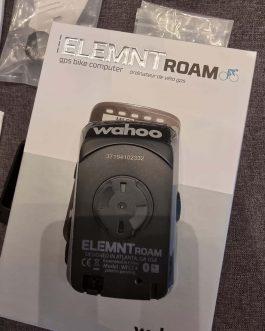 Ciclocomputador e GPS Wahoo Elemnt Roam, Nota Fiscal, Peso Aprox. 100 g, Usado.