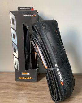 Par de Pneus Continental Grand Prix 5000, Peso Aprox. do par 440 g, Novos.